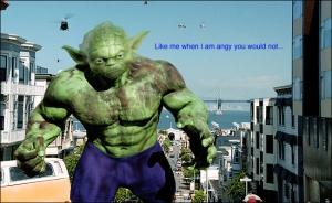 Als Yoda ook iets meer aan #fitspo had gedaan..