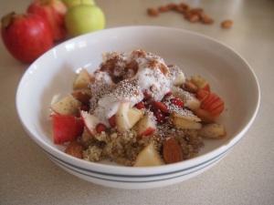 Hmmm organische vegan chiaquinoagojihennep-overnight-oats <3333